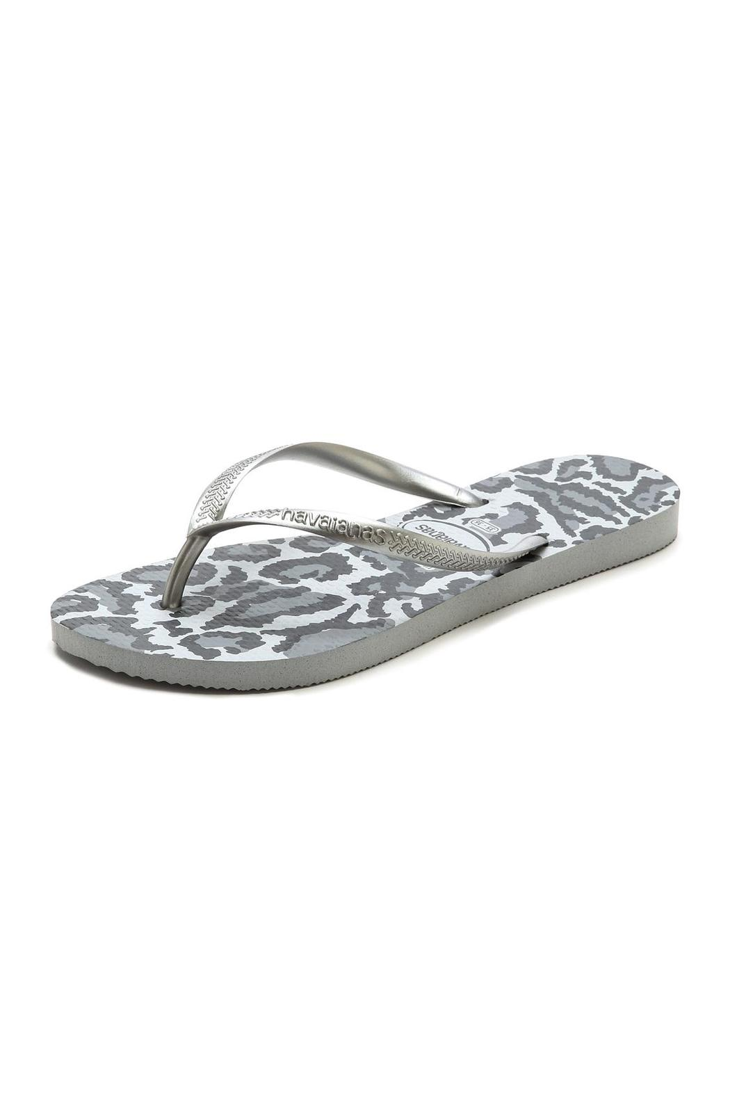 6747243e80c4c8 Havaianas Animal- Silver from New York by Lola Saratoga — Shoptiques