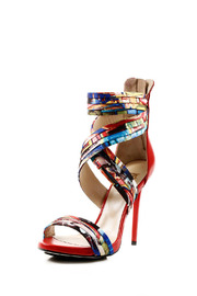 Shoptiques Product: Fabric Stiletto Sandal