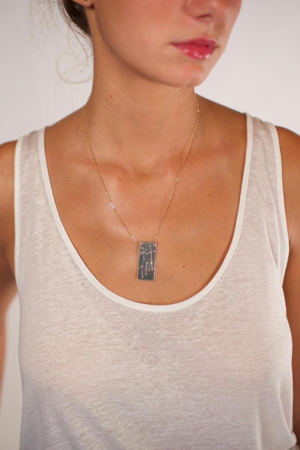 Curiosities Constellation Necklace Libra - Front Full Image