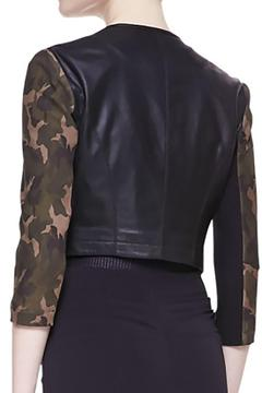 CUT25 BY YIGAL AZROUEL Cropped Camo Jacket - Alternate List Image