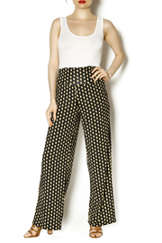 Mud Pie Harlow Palazzo Pants - Front full body