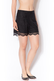 CCH Collection Lace Black Shorts - Front cropped