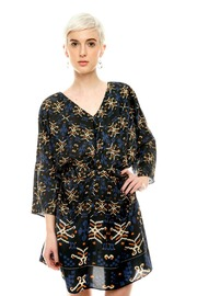 Shoptiques Product: V-Neck Tunic Dress