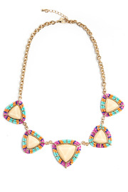 Shoptiques Product: Beaded Colorful Necklace