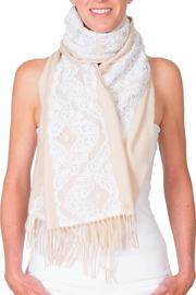 CLAIRE FLORENCE White Lace Mini - Front full body