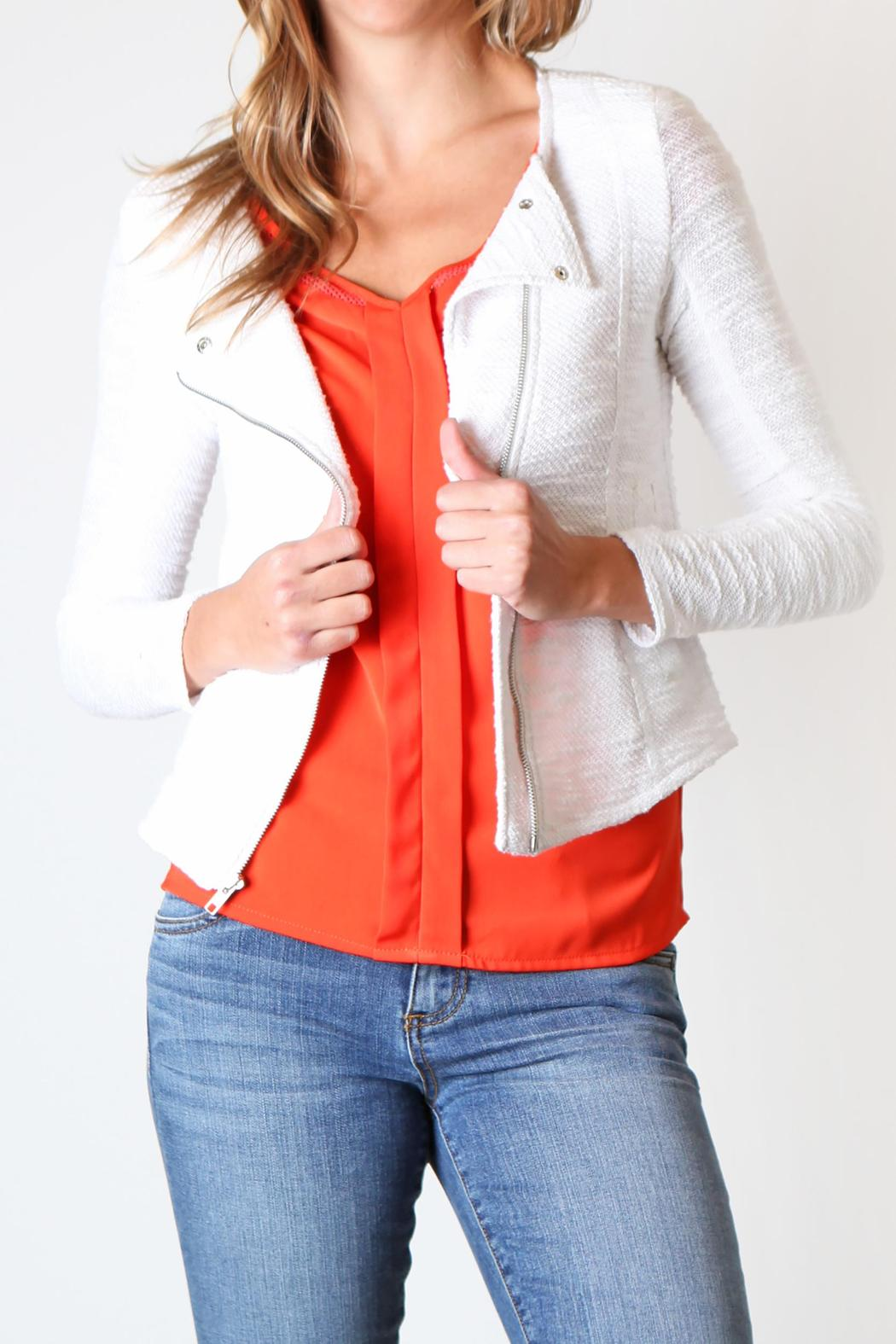 Kut from the Kloth Knit Moto Jacket from California by Boutique 120 u2014 Shoptiques