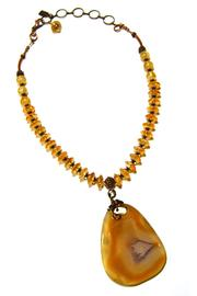 Leocadia Designs Carmel Ghost Agate - Front cropped