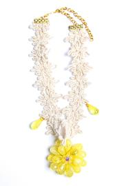 Design by Ameilie Yellow Floral Choker - Product Mini Image