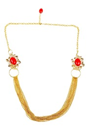 Shoptiques Product: Grand Coral Necklace