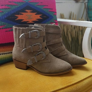 Triple Belted Boots  - Instagram Image