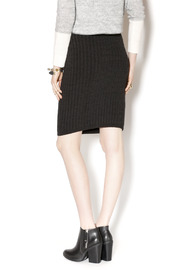 M. Rena Cable Sweater Skirt - Back cropped