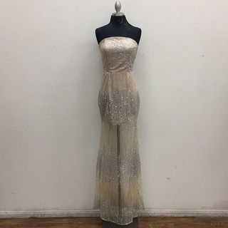 Unknown Factory Strapless Dress - Instagram Image
