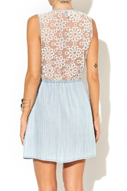 Collective Concepts Denim Dress - Back cropped