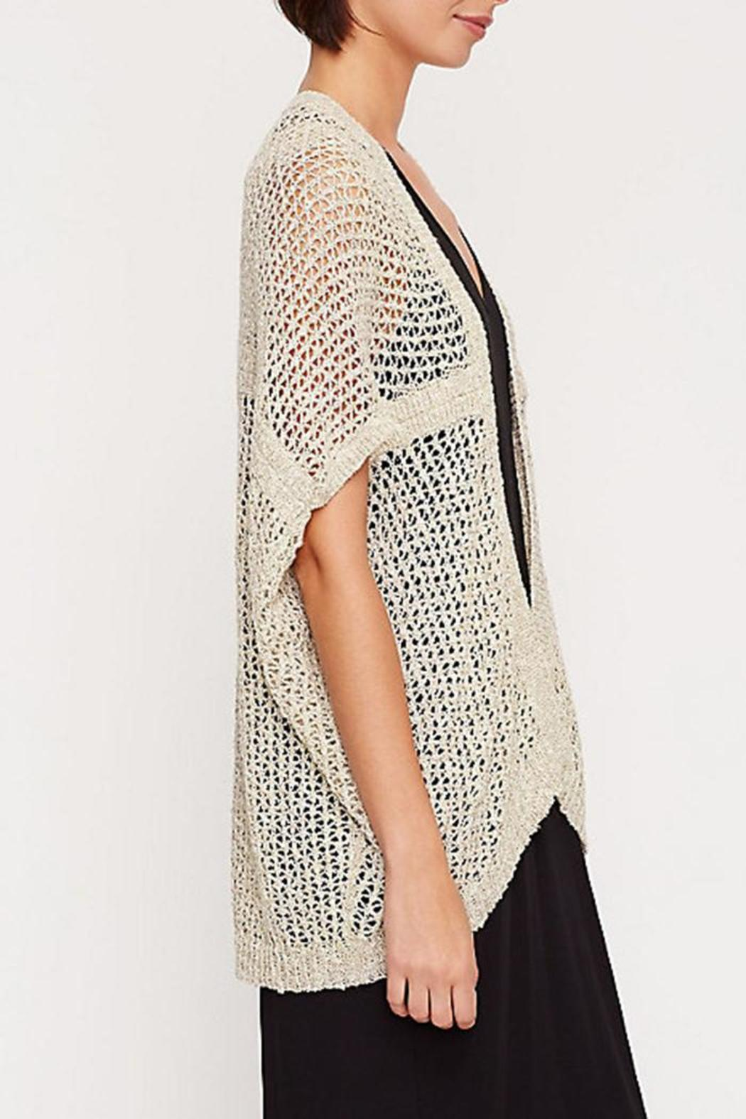Eileen Fisher Short-Sleeve Kimono Cardigan from District of ...