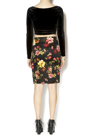 Ambiance Floral Pencil Skirt - Side cropped