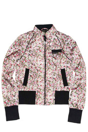 Shoptiques Product: Floral  Bomber Jacket