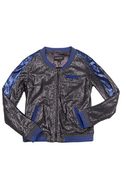 Members Only Sequin Baseball Jacket - Product List Image