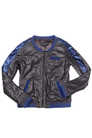 Shoptiques Product: Sequin Baseball Jacket