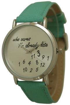 "Shoptiques Product: ""Already Late"" Watch"