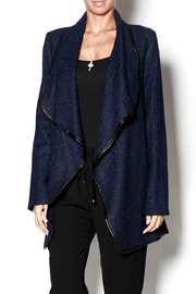 Ya Los Angeles Oversized Navy Cardi - Product Mini Image