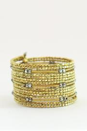 Two's Golden Cuff Bracelet - Product Mini Image