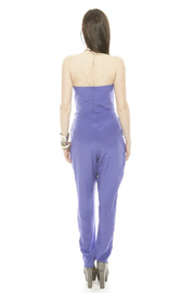 Zimmerman Strapless Prism Jumpsuit - Back cropped