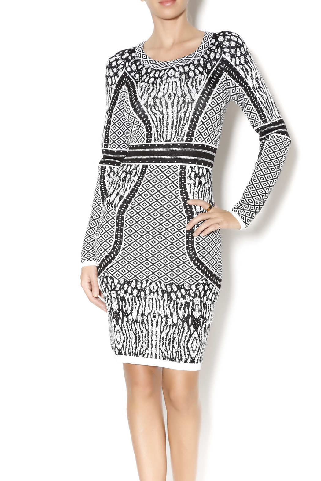 Charlie jade bodycon sweater dress from pennsylvania by for Sweater over wedding dress