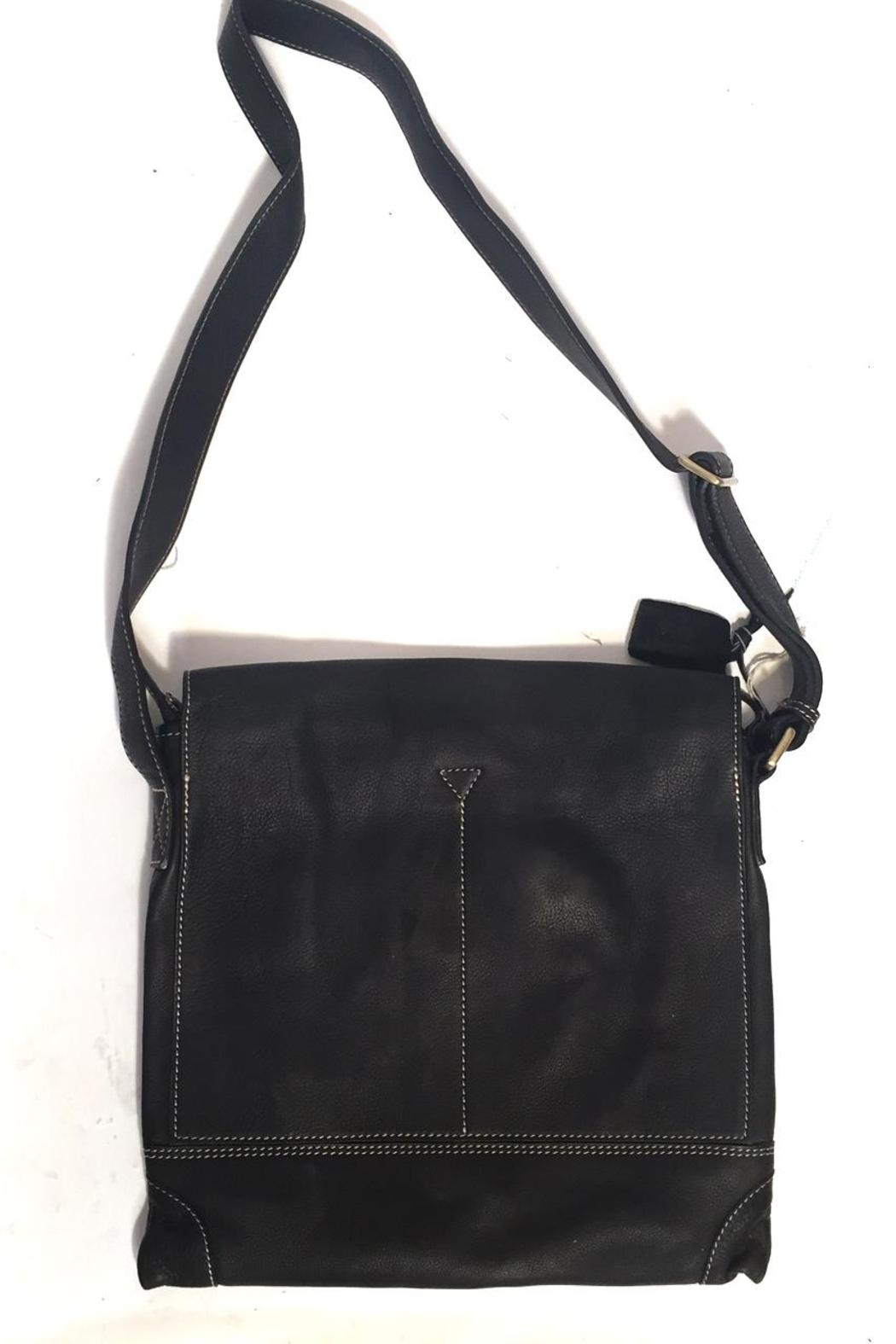 Fredd & Basha Foldover Messenger Bag - Side Cropped Image