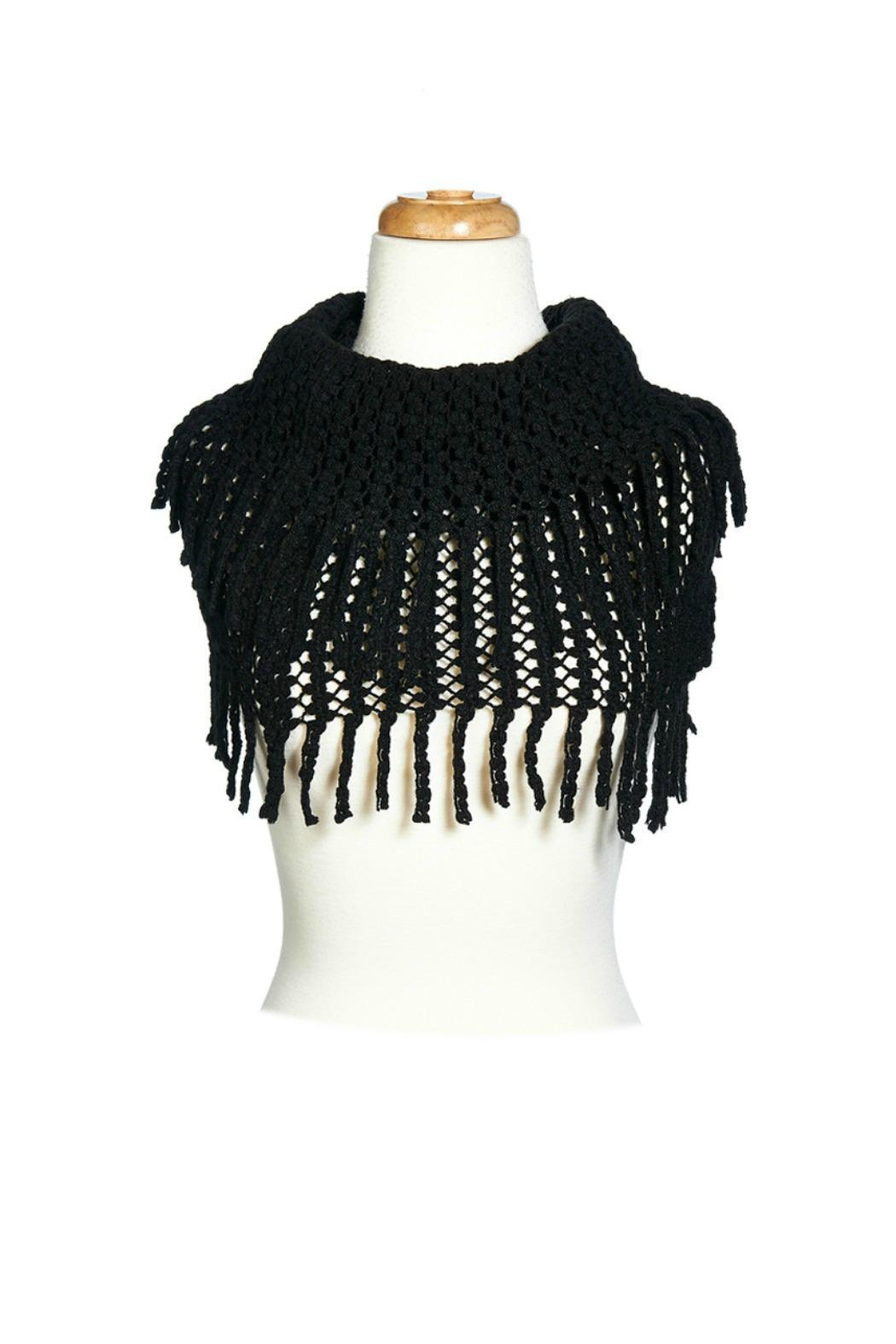Jubilee Infinity Fringe Scarf - Front Cropped Image