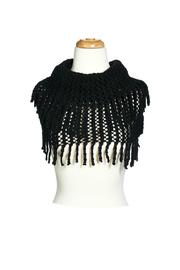 Jubilee Infinity Fringe Scarf - Front cropped