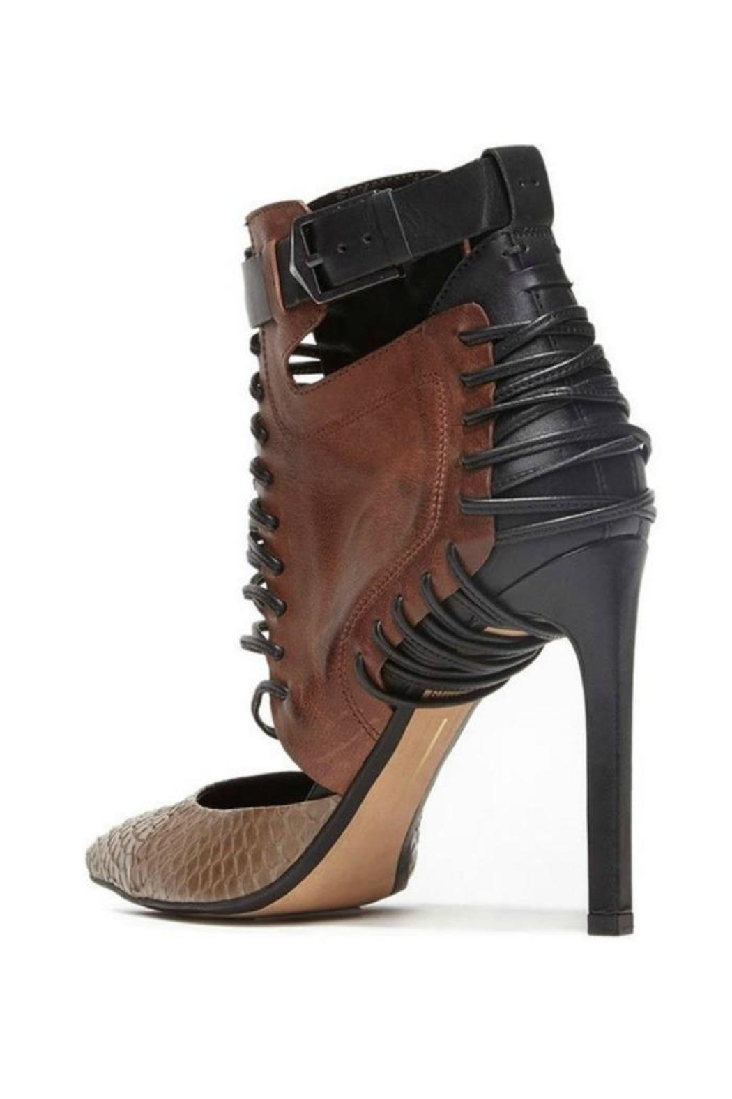 Dolce Vita Brown Bootie Pump from Williamsburg by The Shoe