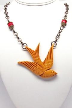 Hotcakes Design Swallow Necklace - Alternate List Image