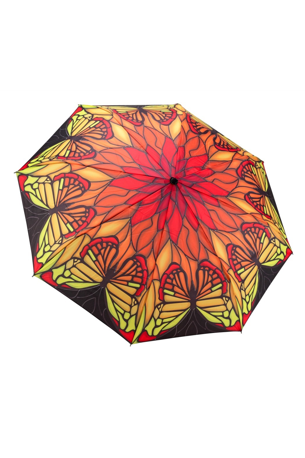 Galleria Stainglass Butterfly Umbrella - Main Image