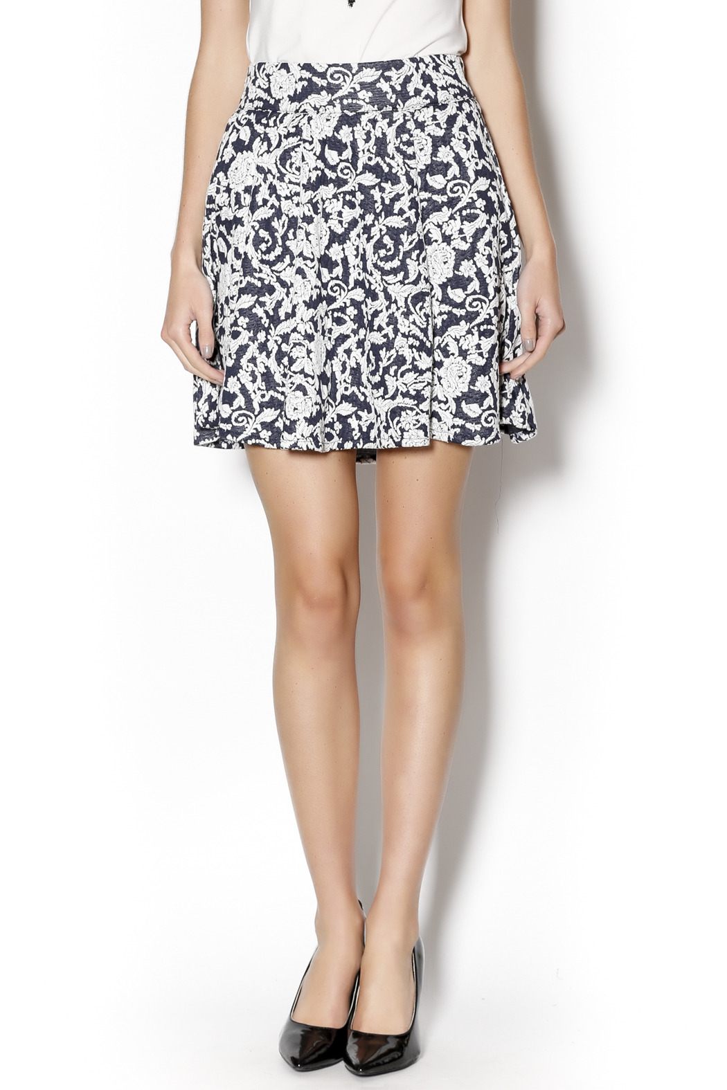 Angie Floral Swing Skirt - Main Image