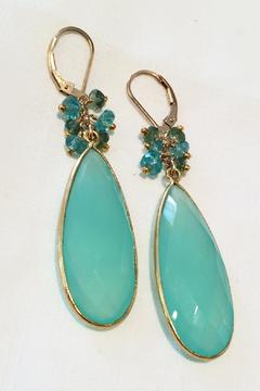 Melinda Lawton Jewelry Chalcedony And Apatite - Alternate List Image