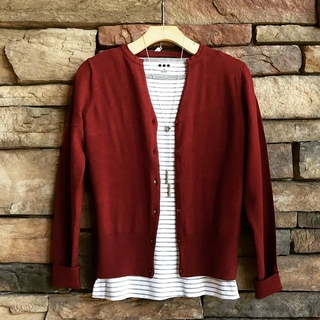 Shoptiques Product: Red Cardigan