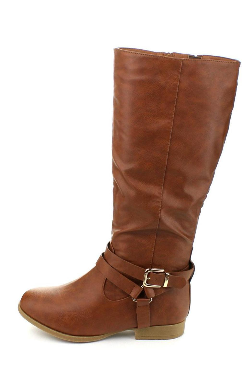 Top Moda Land Riding Boot - Side Cropped Image