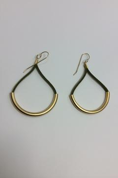 Shoptiques Product: Gold Plated Earring