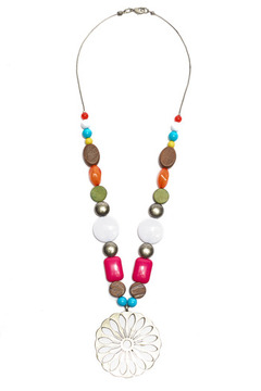 Creative Treasures Summer Beads Necklace - Alternate List Image