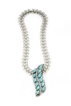 Natalie B Turquoise Pendant Necklace - Product List Image
