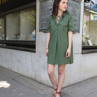 Shoptiques Equipment Shirt Dress