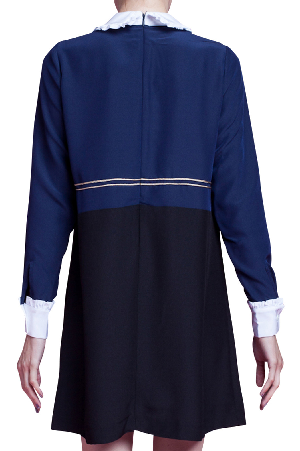 Vivetta Collared Dress - Side Cropped Image