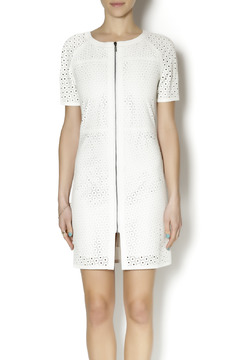 Shoptiques Product: Perforated Leather Dress
