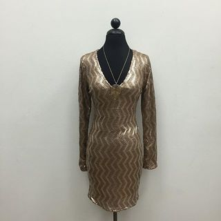 Shoptiques Sequin Mini Dress