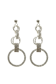 e.j. hannah Aria Circle Earring - Product Mini Image