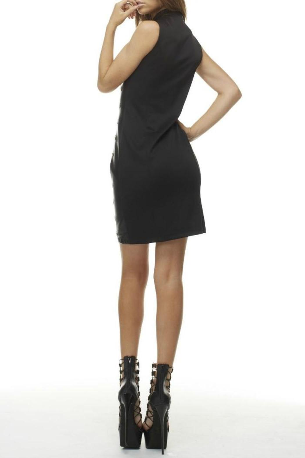 MHGS Sexy Black Dress - Front Full Image