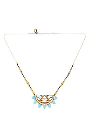Kris Nations Urban Beaded Necklace - Front full body