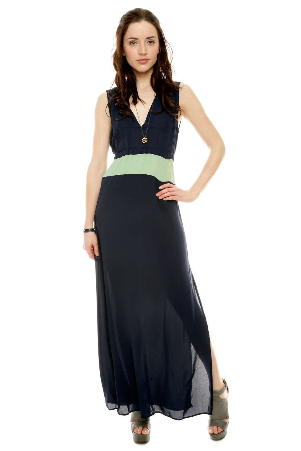 NU Alicia Maxi Dress - Front Cropped Image