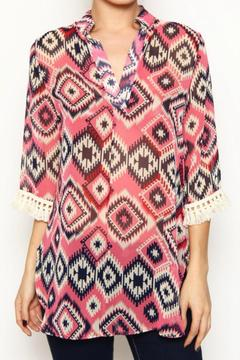 Auditions Tribal Chiffon Top - Product List Image