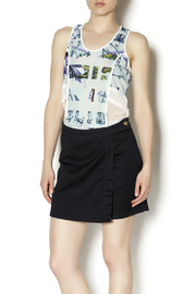 BCBGeneration Sheer Floral Tank - Product Mini Image